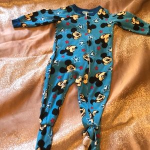 Fleece Mickey pjs